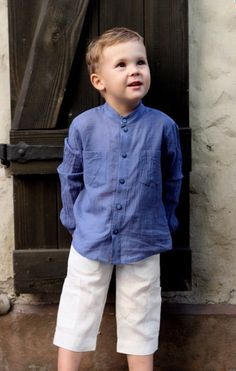 Boys white shirt with hood buttons linen beach soft wedding party special occasion birthday baptism baby boy infant summer Baby Boy Dress, Baby Boy Outfits, Kids Outfits, Boys Clothes Style, Stylish Boys, Boys Wear, Kids Fashion Boy, Boys Shirts, Free Shipping