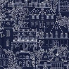 Michael Miller Midnight Gems Maison Toile Couture