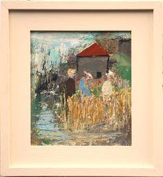 Harvest - oil on board incl frame. Harvest, Paintings, Oil, Board, Frame, Picture Frame, Paint, Painting Art, Painting