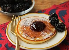 Scottish Pancakes (with optional jam) - The Culinary Cellar