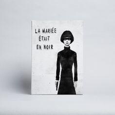 Balázs Solti - The Bride Wore Black - Canvas