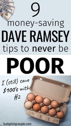 Best Money Saving Tips, Money Tips, Saving Money, Frugal Living Tips, Frugal Tips, Dave Ramsey Plan, How To Be Rich, The Ramseys, Savings Challenge