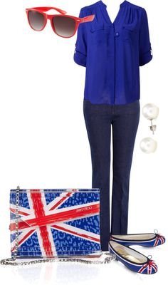 """British Influence"" by naniandboo on Polyvore"