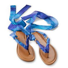 Summer Sale: AS ankle wrap sandals, $89, now featured on Fab.
