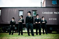 A vintage style #wedding at the Markham Museum in Ontario, Canada.
