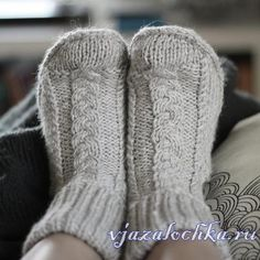 Knitted boots spokes