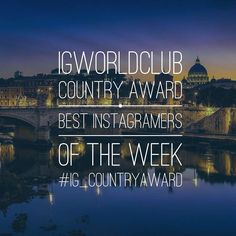 Present  I G  C O U N T R Y  A W A R D  The first and greatest contest from 2012  Edition N. 149  330 Igworldclub Country Account  R U L E S  Put the Tag #igbiella #ig_countryaward #instagramersofthemonth_february  Follow @igbiella @igworldclub  New photos of the week.  Unlimited entries  T H E  F I N A L  Who will win the Local Country Award Must be partecipate to final selection on Friday to main account @igworldclub  Igworldclub will choose the 3 best photos from all accounts who take…
