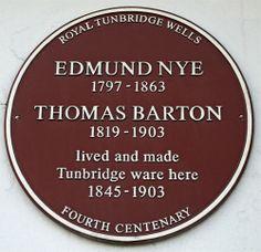 Plaques - Tunbridge Wells