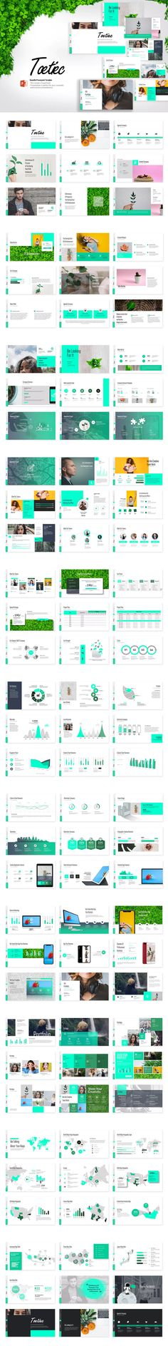 Toetiec Powerpoint Presentation Template #unlimiteddownloads
