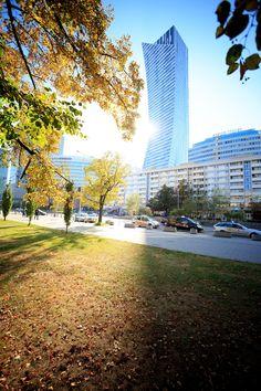 ZŁOTA 44 building #Złota44 #Warsaw #Poland #Libeskind #architecture #skycraper #citycenter