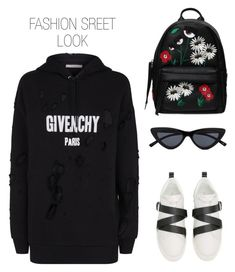 """FASHION IN THE STREETS"" by aaaaabbbbbccccc on Polyvore featuring Givenchy, Valentino and Chiara Ferragni"