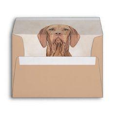 #Vizsla Envelope - #vizsla #puppy #dog #dogs #pet #pets #cute