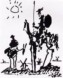 Pablo Picasso. Don Quixote - Google Search