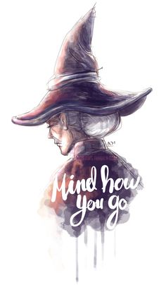Discworld's Granny Weatherwax - art by adidraws on Tumblr.