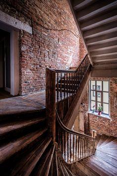 Klatka schodowa w Good Time Hotel Apartments - Piotrkowska 120, Lodz, Poland