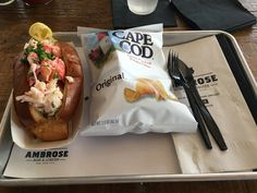 Lobster Roll from Ambrose Beer and Lobster in NYC #TTDD