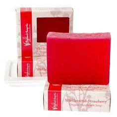 Wild Scottish Strawberry Soap 140g