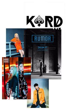 """""""K.A.R.D Rumor Comeback ❤️"""" by redvelvetarianator ❤ liked on Polyvore"""