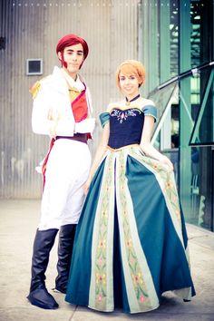 Anna y Hans - Frozen / Fotografo: Fernando Brischetto