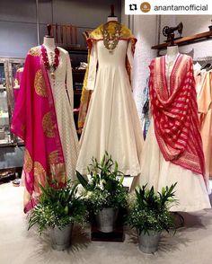 "1,309 Likes, 67 Comments - Matsya World (@matsyaworld) on Instagram: ""Shop these beautiful ivories @anantamofficial gurgaon  Repost via repost app . . . ""Stunning…"""