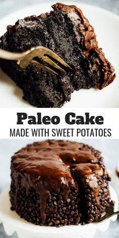 Healthy Chocolate Desserts, Chocolate Sin Gluten, Cake Vegan, Gluten Free Chocolate Cake, Mini Desserts, Healthy Dessert Recipes, Healthy Desserts, Gourmet Recipes, Cake Chocolate