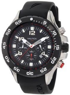 Nautica Men's N17526G NST Chronograph Watch