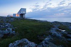 Отель Fogo Island Inn  - амбициозный проект студии Saunders Architecture