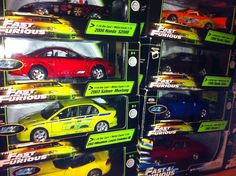 Fast 5 The Movie Cars | THE FAST AND THE FURIOUS CAR COLLECTION -Fast Five Movie Cars : Toy ...