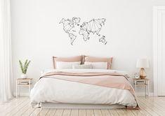 Minimalist Home Deco Bird Wall Decals, Removable Wall Decals, Wall Decal Sticker, Wall Stickers, Wand Tattoo, Scandi Home, Cushions, Pillows, Minimalist Home