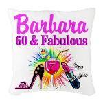 GLAMOROUS 60TH Burlap Throw Pillow http://www.cafepress.com/jlporiginals/12164026 #60thbirthday #60yearsold #Happy60thbirthday #60thbirthdaygift #60andfabulous #turning60  #Personalized60th