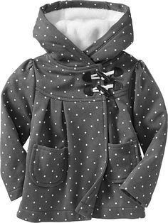 Hooded Toggle-Front Coats for Baby Product Image