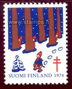 1974 Metsätontut Good Old Times, Lost Art, Stamp Collecting, Postage Stamps, Finland, Denmark, Kids Rugs, Retro, Paper