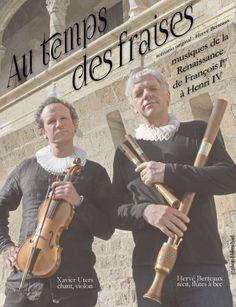 La Compagnie #Médiévale. Hervé #Berteaux. Xavier #Uters. Musiques de la #Renaissance