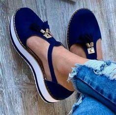 Simple Sandals, Blue Sandals, Sandals Sale, Gladiator Sandals, Summer Wedges, Summer Shoes, Summer Sandals, Moda Casual, Casual Heels