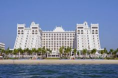 Puerto Vallarta is a great spot to relax with your family and kids after tax season is over Riu Palace Pacifico.