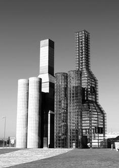 Hedjuk towers, Spain