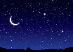 Imagenes de cielo estrellado con luna - Imagui Images of starry sky with moon - Imagui estrellado Nocturne, Night Sky Wallpaper, Sunrise Wallpaper, Les Fables, Slide Images, Sky Full Of Stars, Star Sky, Christian Prayers, Christian Faith