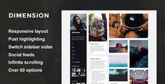 Dimension - A Responsive Sidebar Theme (Portfolio) - http://wpskull.com/dimension-a-responsive-sidebar-theme-portfolio/wordpress-offers