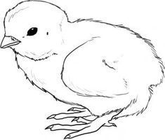 easter chick coloring sheet cute baby chicks preschool coloring