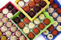 We Share IdeasTop Brigaderias Gourmet No Bake Desserts, Truffles, Food And Drink, Sweets, Baking, Breakfast, Erika, Image, Best Chocolates