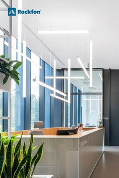 The vision for the new Bialmed headquarters in Poland was to create a healthy atmosphere with low sound reverberation and great light reflection for a more balanced working environment. Read how the acoustic solutions assisted the architects from Studio 3XA to realise their vision of involving the surrounding natural landscape while optimising the optimal acoustics. #SoundsBeautiful #modernceilings #newofficedesign #acoustics #acousticceilingdesign #acousticceiling#officedesign Acoustic Design, Office Environment, Light Reflection, Ceiling Design, Offices, Design Projects, Poland, Architects, Landscape