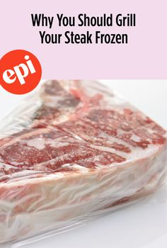 5 Tips for Cooking Frozen Steak Grilled Hamburger Steak Recipe, Grilled Steak Recipes, Grilled Meat, Grilling Recipes, Beef Recipes, Cooking Recipes, Cooking Tips, Cooking Lamb, Grilling Tips