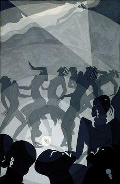 Aaron Douglas Harlem Renaissance artist  1930s