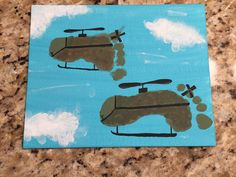 Discover recipes, home ideas, style inspiration and other ideas to try. Toddler Art, Toddler Crafts, Helicopter Craft, Aviation Theme, Nurse Art, Military Art, Navy Military, Transportation Theme, Footprint Crafts