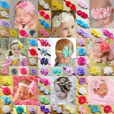 Wholesale 100pcs Kids Girl Baby Toddler Cute Elastic Headband Hair Band Headwear