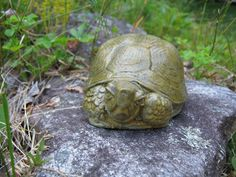 Small Garden Turtle,  by WestWind Home & Garden on Etsy