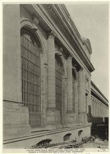 Façade, Depew Place, Grand Central Terminal, New York. (1913)