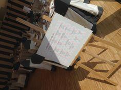 Seating Plan by Casona del Judío. Andrea and Alvaro Wedding 21.06.2014