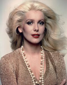 Catherine Deneuve looking ravishing.