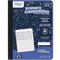 Amazon has the Mead Primary Composition Notebook, Wide Ruled Comp Book, Lined Paper, Grades K-2 Writing Workbook, Dotted Notebook Perfect for Home School Supplies, 100 Sheets, Blue Marble marked down from $5.99 to $2.99 and it ships for free with your Prime Membership or any $25 purchase. That is 50% off the retail price!…